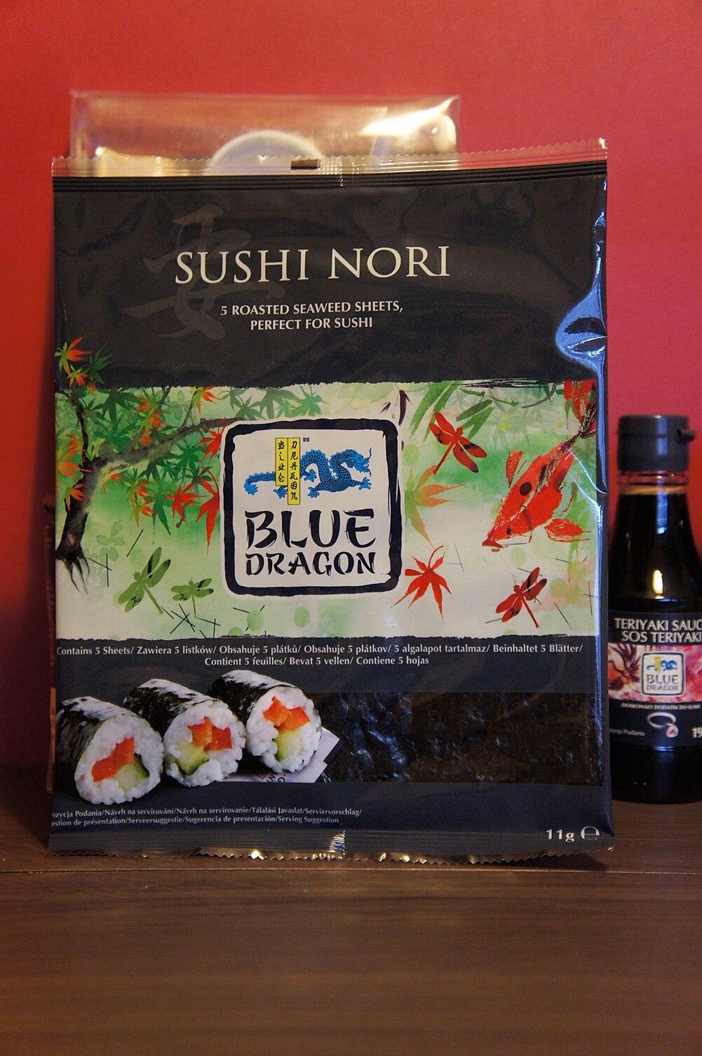 jak zrobić sushi? Blue dragon