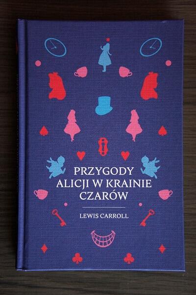 Książki dla dzieci Przygody Alicji w Krainie Czarów