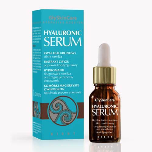 Serum nawilżające z kwasem hialuronowym